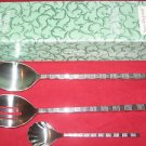 Pfaltzgraff 18/10 Stainless Satin Chopstick 3-Piece Set ( Discontinued ) NIB.