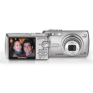 "Olympus STYLUS-750 7.1 MegaPixel All-Weather CCD Camera with 5x Optical Zoom and 2.5"" LCD"
