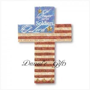 Soldier's Prayers Cross