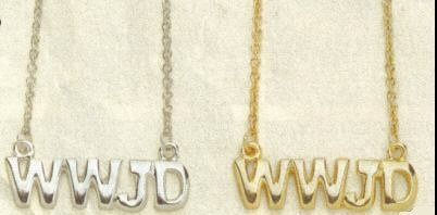 "12 ""What Would Jesus Do"" Necklaces"