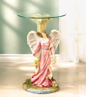 Guardian Angel Glass Tabletop