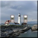 Portland Head Lighthouse Double Switchplate Cover