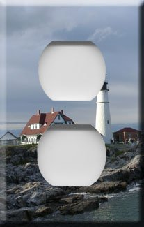 Portland Head Lighthouse Outlet Cover