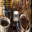 Cappucino Cafe Single Switchplate Cover