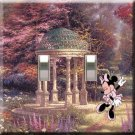 Minnie Mouse Gazebo Double Switchplate Cover