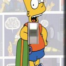 Bart Simpson Single Switchplate Cover