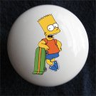 Bart Simpson Ceramic Dresser/Cabinet Knob