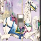 Carousel Horse Single Switchplate Cover