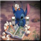 Lilo & Stitch Handcrafted Double Swithplate Cover