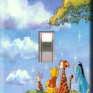 Winnie the Pooh Wish Upon a Star Handcrafted Single Switchplate Cover