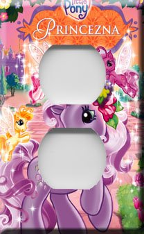 My Little Pony Handcrafted Outlet Cover