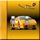 Lamborghini Handcrafted Double Switchplate Cover