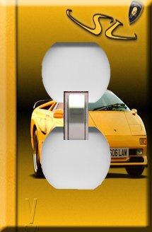 Lamborghini Handcrafted Outlet Cover