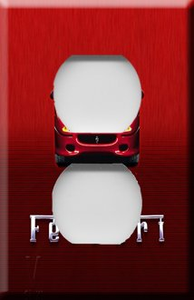 Ferrari Handcrafted Outlet Cover