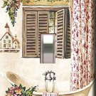 Country Bath Tub Handcrafted Single Switchplate Cover