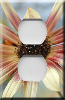 Daisy Handcrafted Outlet Cover
