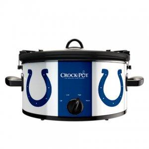 Official NFL Crock-Pot Cook & Carry 6 Quart Slow Cooker - Indianapolis Colts