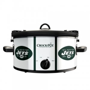 Official NFL Crock-Pot Cook & Carry 6 Quart Slow Cooker - New York Jets