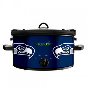 Official NFL Crock-Pot Cook & Carry 6 Quart Slow Cooker - Seattle Seahawks