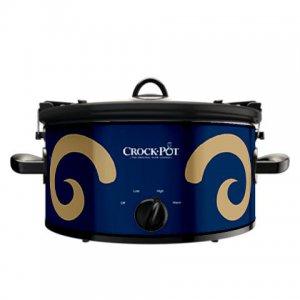Official NFL Crock-Pot Cook & Carry 6 Quart Slow Cooker - St. Louis Rams
