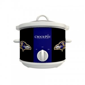 Official NFL Crock-Pot Cook & Carry 2.5 Quart Slow Cooker - Baltimore Ravens
