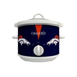 Official NFL Crock-Pot Cook & Carry 2.5 Quart Slow Cooker - Denver Broncos