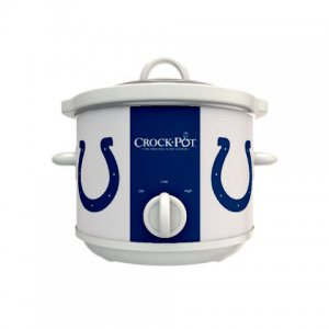 Official NFL Crock-Pot Cook & Carry 2.5 Quart Slow Cooker - Indianapolis Colts
