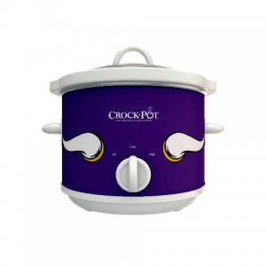 Official NFL Crock-Pot Cook & Carry 2.5 Quart Slow Cooker - Minnesota Vikings