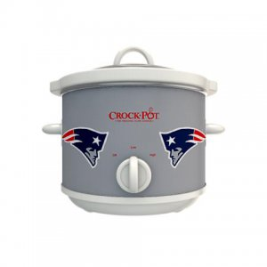 Official NFL Crock-Pot Cook & Carry 2.5 Quart Slow Cooker - New England Patriots