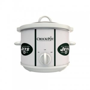 Official NFL Crock-Pot Cook & Carry 2.5 Quart Slow Cooker - New York Jets