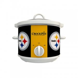 Official NFL Crock-Pot Cook & Carry 2.5 Quart Slow Cooker - Pittsburgh Steelers