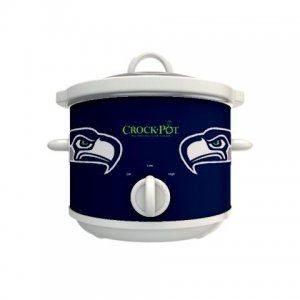 Official NFL Crock-Pot Cook & Carry 2.5 Quart Slow Cooker - Seattle Seahawks
