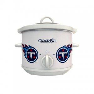 Official NFL Crock-Pot Cook & Carry 2.5 Quart Slow Cooker - Tennessee Titans