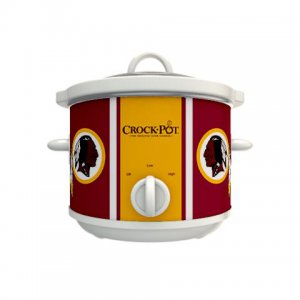 Official NFL Crock-Pot Cook & Carry 2.5 Quart Slow Cooker - Washington Redskins