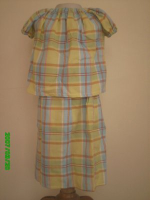 Colorful cotton for little girls to wear