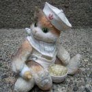Enesco Calico Kitten Sailor 1995 RARE &#39;&#39;New Kit on the Block&#39;&#39;