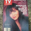 TV Guide Near Mint 1991 Shannen Doherty 90210