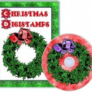 Christmas Digistamps crafting CDROM
