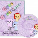 Cute Creations Crafting CDROM