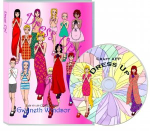Dress up crafting CDROM
