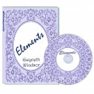 Design Elements Digistamps, crafting CDROM