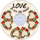 Love is all we need  Vol 4 crafting CDROM