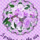Spring is in the air Crafting CDROM