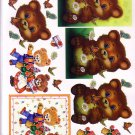 Benny bear and friends 3D Card Making Kit