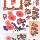Bears amongst the flowers 3D cardmaking kit