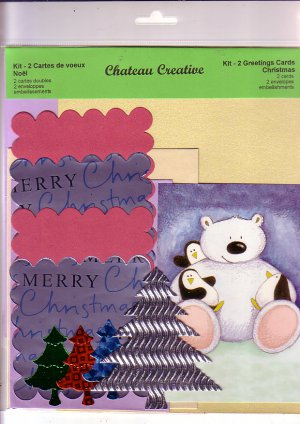 Pretty Panda Easy card making kit