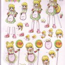 Manga Candy Kids 3D card making kit - Lollipop girl