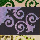 Swirls and twirls large embellishments