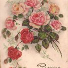 Bonne Fete, Happy Saint's Day card c. 1930