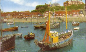 Fishing boats in Folkestone harbour